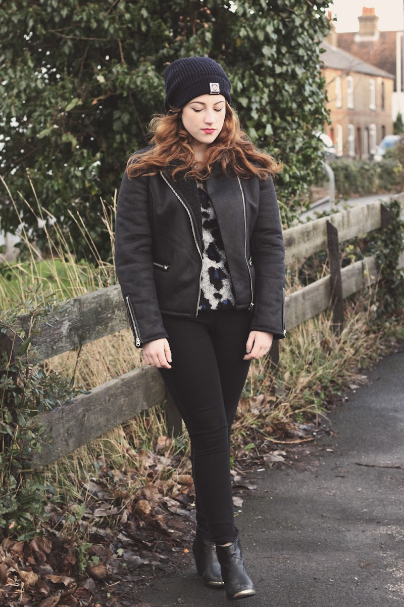 how to style a leopard print jumper