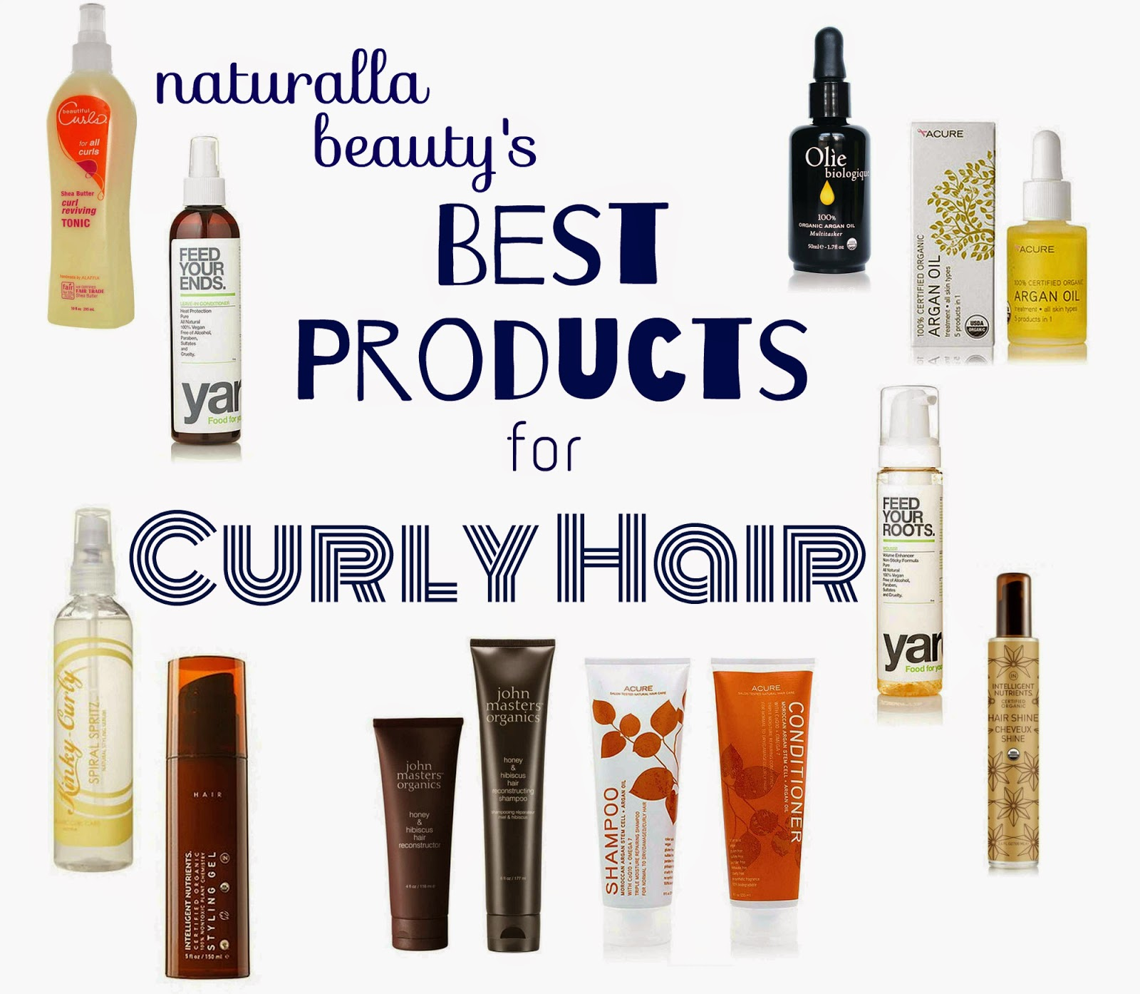 Beauty: Best of 2014: Curly Girl Hair Products (Budget + High End