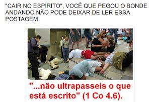 """NÃO DEIXE DE LER E SAIBA A VERDADE SOBRE O """"CAIR NO ESPÍRITO"""", CLIQUE ABAIXO"""