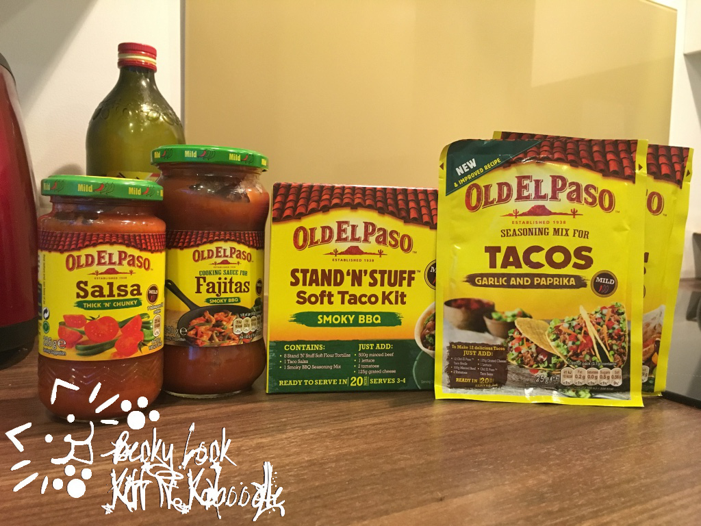 Becky Lock Lets Cook Old El Paso Stand N Stuff Taco Kit
