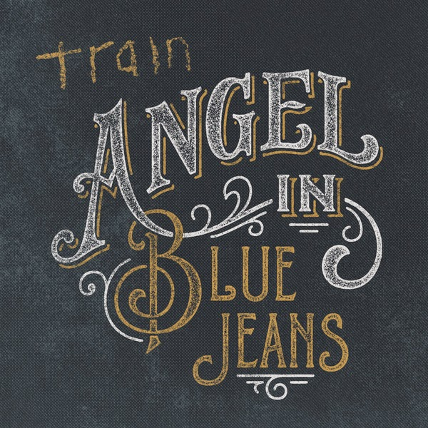 Train - Angel in Blue Jeans - Single Cover