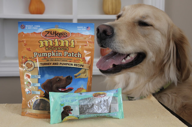 Healthy Dog Treats for the Holiday Season Zukes review and giveaway