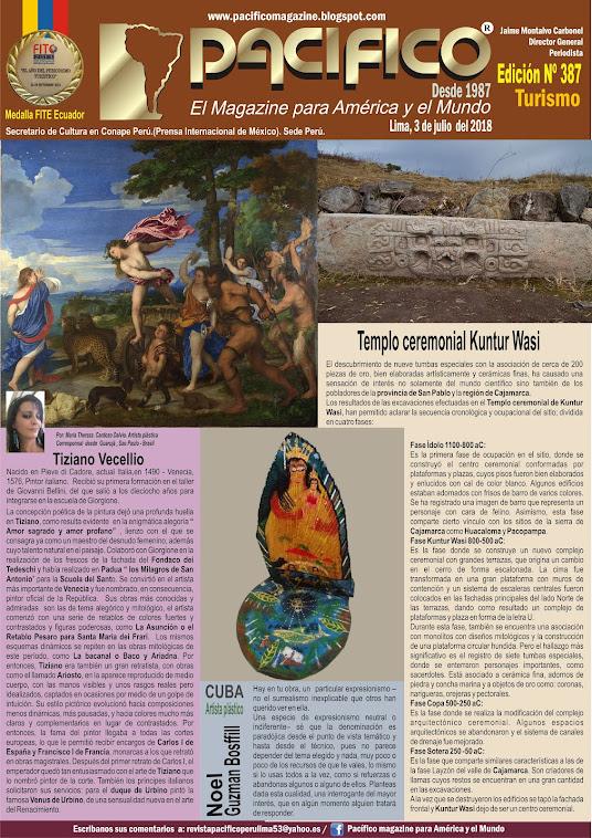 Revista Pacifico Nº 387 Turismo