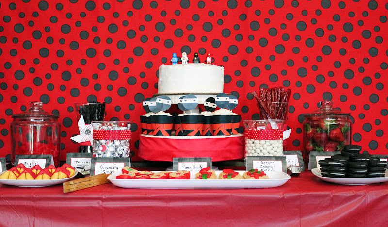 Confessions Of A Serial Cheapskate Ninja Party Dessert Table Part II