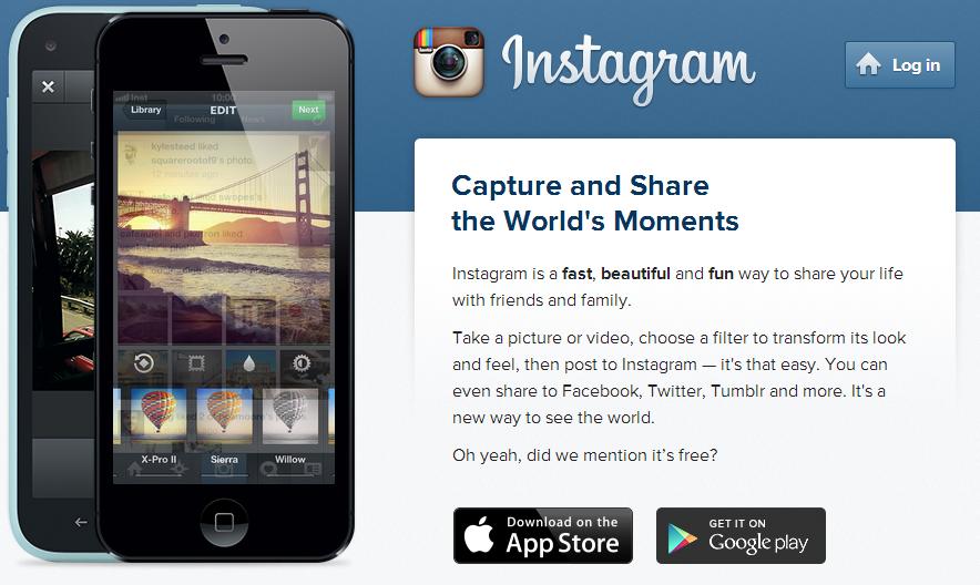 Зарегистрироваться на Instagram можно только с мобильного устройства