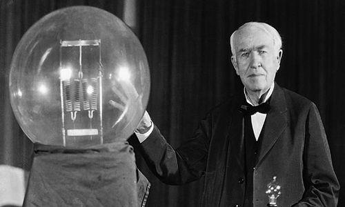 first bulb