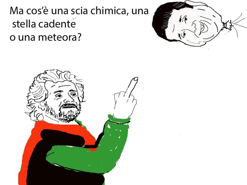 Vignette di satira politica VIGNETTE SUI METALMECCANICI,  BERLUSCONI, MARONI, RENZI, GRILLO,