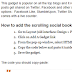 Add Floating Social Media Sharing Buttons To Blogger