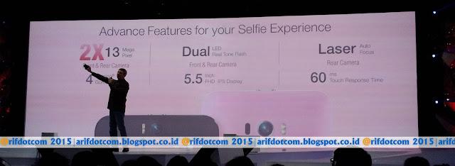 Keunggulan kamera depan 13 MP Zenfone 2 Selfie