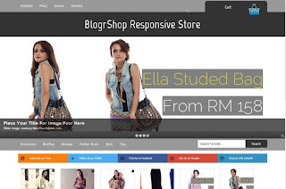 blogrshop responsive blog store download