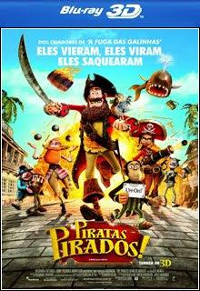 Piratas Pirados 3D Half SBS BluRay 1080p Dual Áudio Capa
