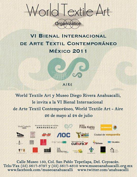 C-VI BIENNIAL OF CONTEMPORARY TEXTILE ART.Photos: World Textile Art Organization. Edition: V Silva.
