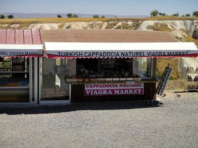 Viagra Market in Cappadocia Turkey