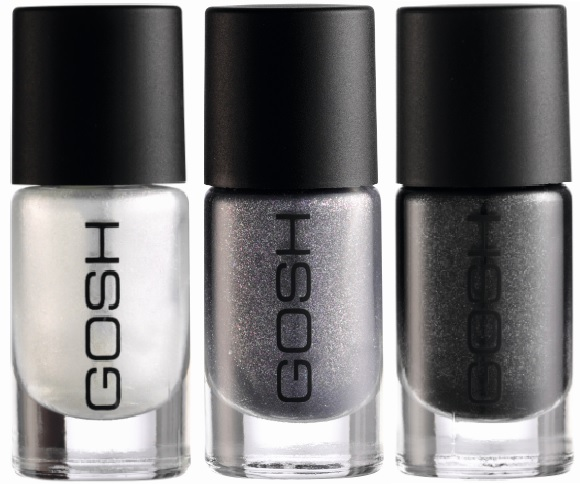 GOSH Stardust Nail Lacquer - with swatches!