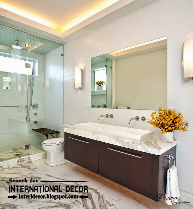 contemporary bathroom lights and lighting ideas home
