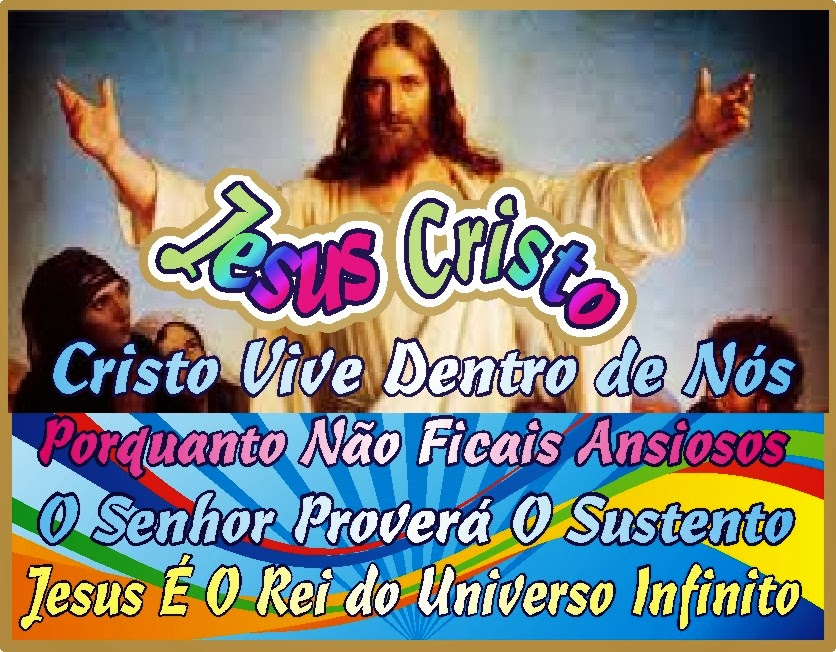 Jesus Vive Dentro de Nós, Não Estais Ansiosos