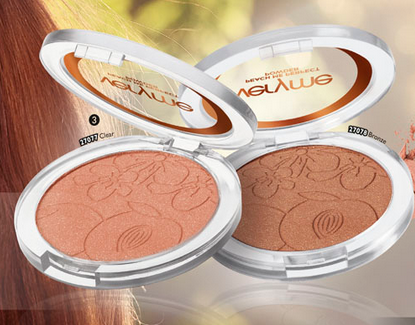 ORIFLAME VERY ME- Peach Me Pressed Powder(Bronze)