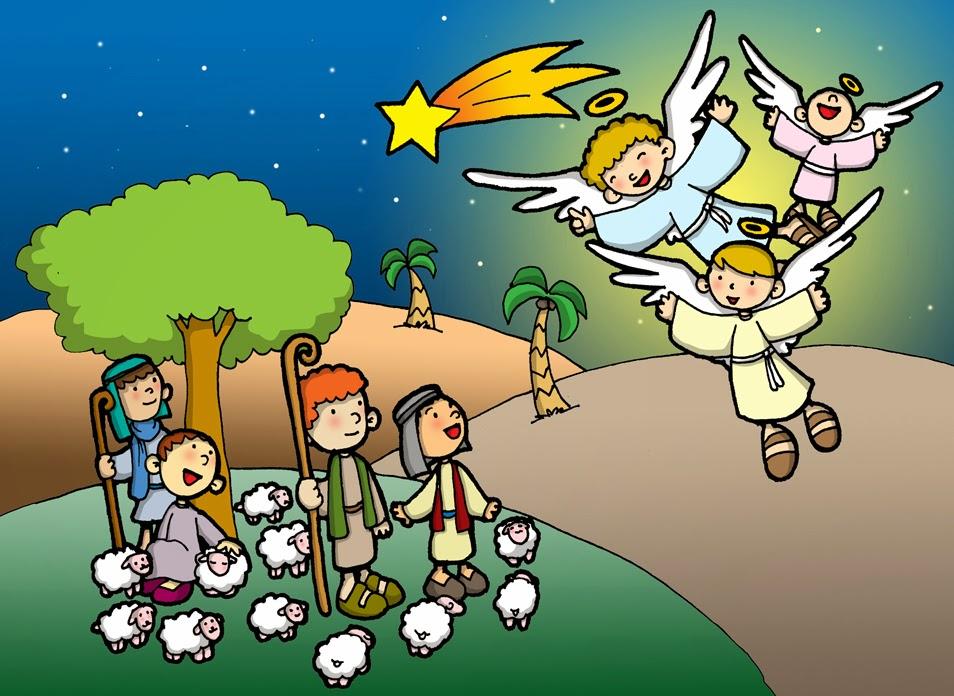 Resultado de imagen de angel y pastores