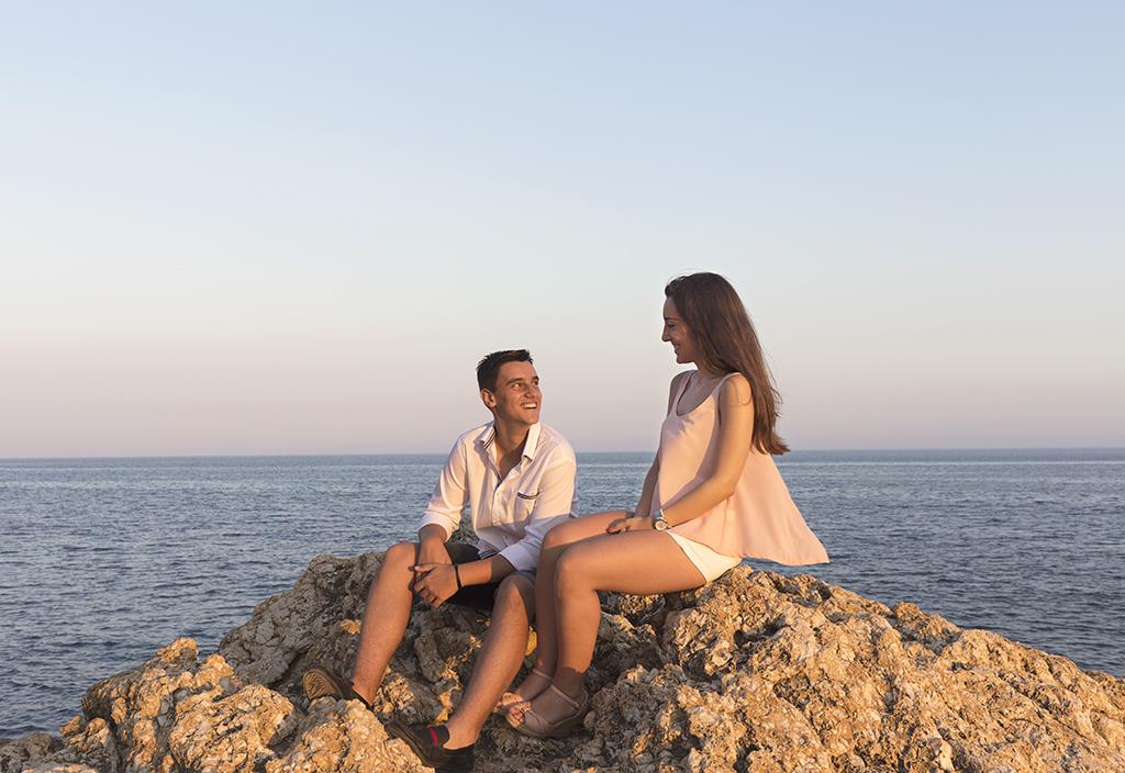 Sesión fotográfica de hermanos La Cala del Moral (Málaga)