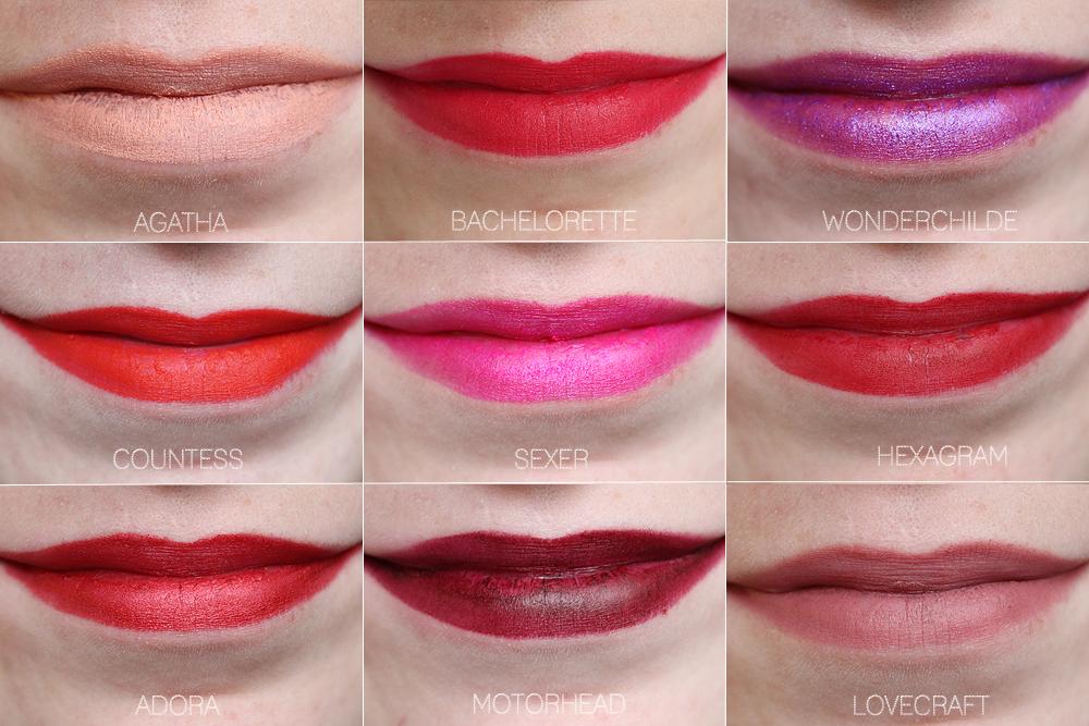 Kat Von D Studded Kiss Lipstick Set - Swatches & Review | XO ...