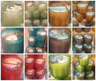 Bath & Body Works | New Decor Glass Test Candles Tropics Collection