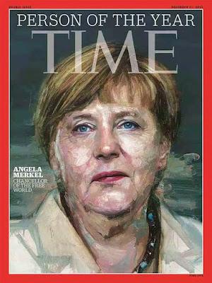 """Angela Merkel é eleita """"personalidade do ano"""" pela revista Time"""