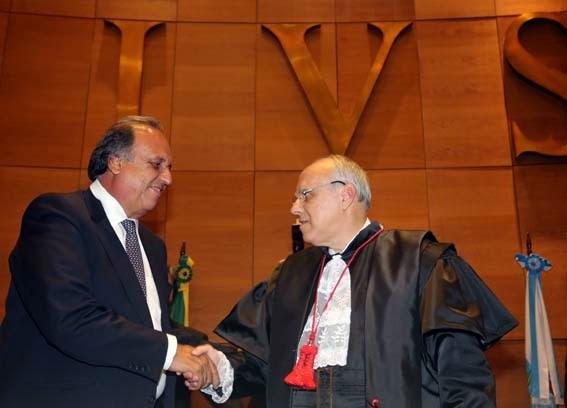 Governador do Rio pede colaboração do Tribunal de Justiça para executar R$ 60 bilhões na dívida ativa