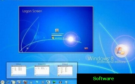 Windows 8 Build 7850 Enterprise x86 (m1 Final) 