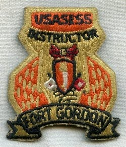 USASESS Instructor Patch