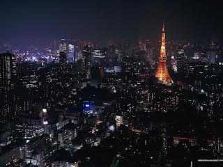 Eiffel Tower at Night HD Wallpaper