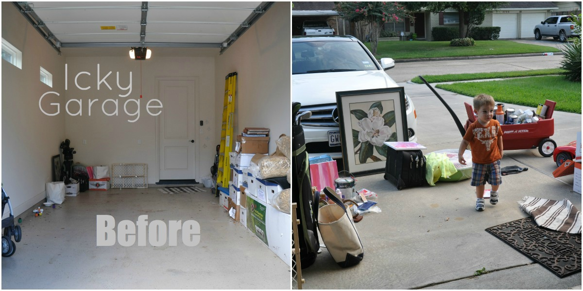 Honey We're Home: Organized Paint Supplies & Organized Home Link Party