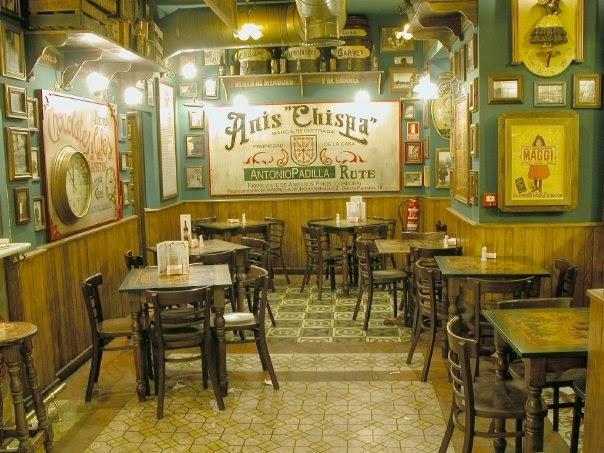 interior de bar