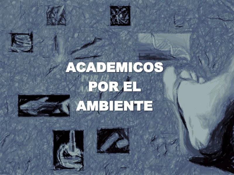ACADEMICOS X EL AMBIENTE