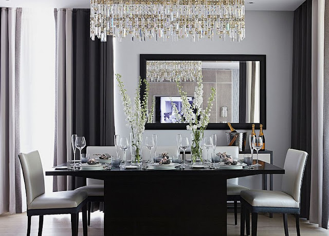 grey dining room ideas
