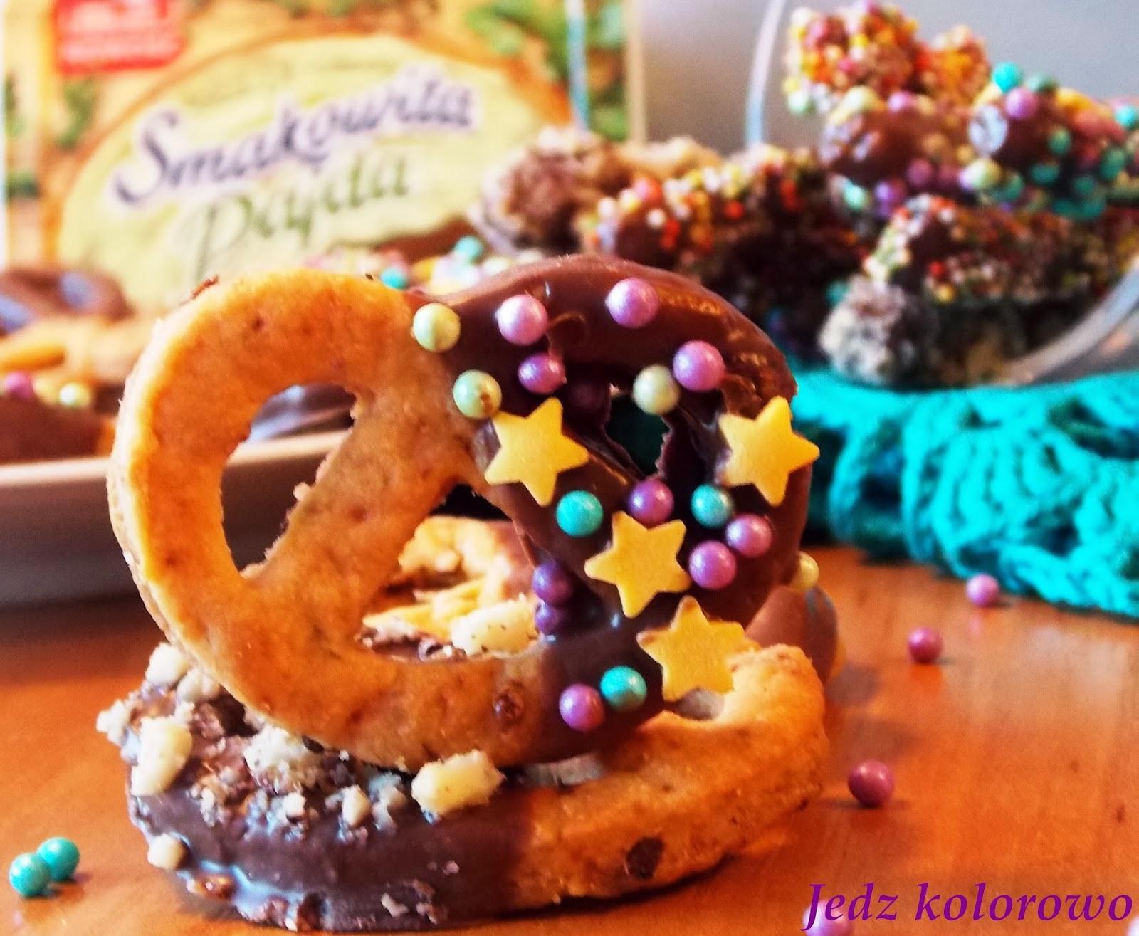 precelki w czekoladzie