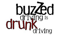 buzzed driving is drunk driving logo