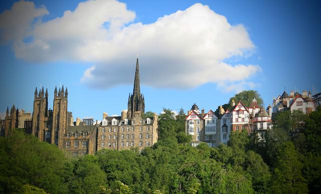 Edinburgh -Skottlands huvudstad