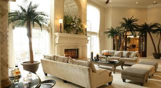 Diseño de interiores rústico plantas