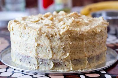 шоколадова торта с портокалов крем
