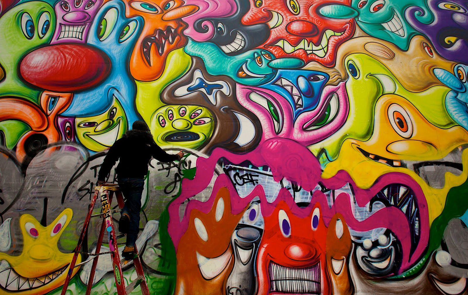Living graffiti ny