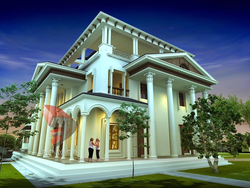 Ultra modern home designs home designs home exterior for Traditional house plans in india