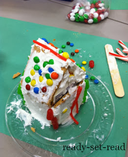 milk carton gingerbread house, christmas activities for kids