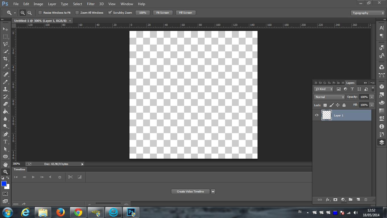 Cara Membuat Animasi atau Emoticon GIF Lewat Photoshop
