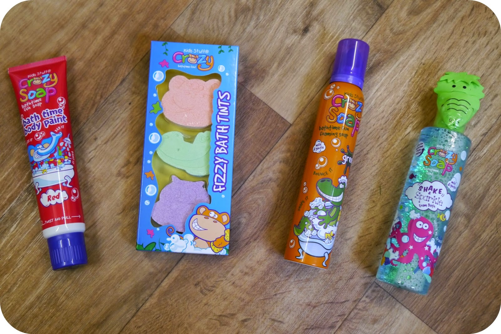 Honest Mummy Reviews : Review - Kids Stuff Crazy Soap Products