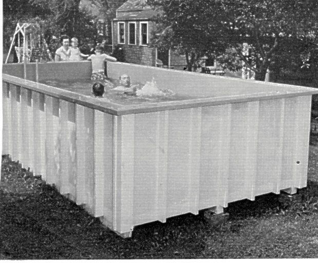 How to build a plywood swimming pool in your backyard - Building a swimming pool yourself ...