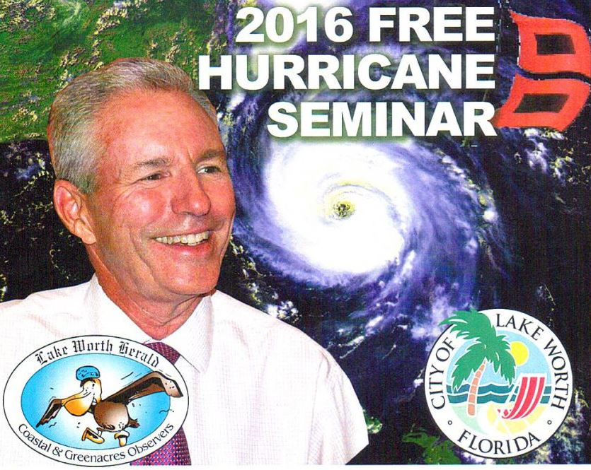The City's Hurricane Seminar is May 18th: