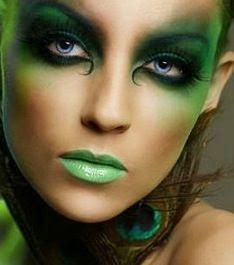 MAKE UP GREEN TRUCCO VERDE