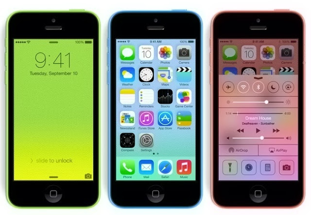 US retailers - iPhone 5C  at discounted price of $49.99 with a two-year contract