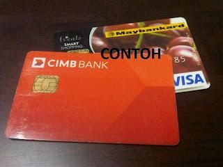 AMARAN !! Kepada Pemegang Kad Debit & Kad Kredit