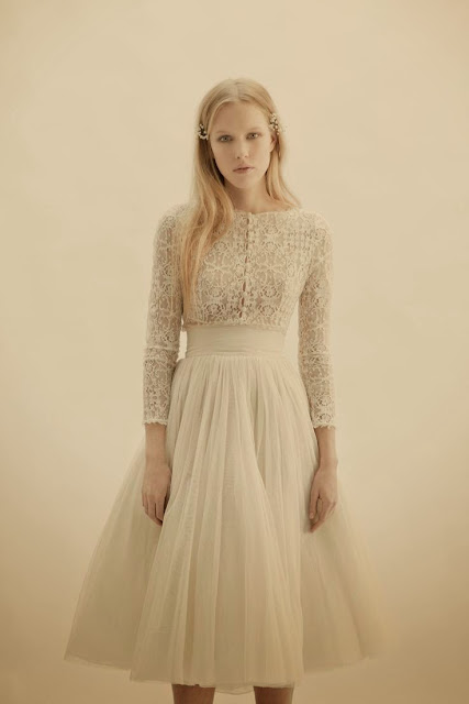 Vesta jacket, Peonia skirt, Wedding party clothing ideas